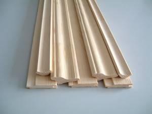 плинтус деревянный сосна